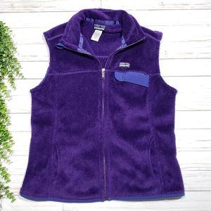Patagonia Retool Fleece Zip Up Vest